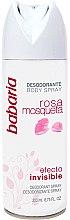Парфюмерия и Козметика Спрей дезодорант - Babaria Rose Hip Invisible Effect Deodorant Spray