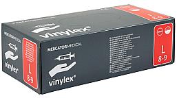 Парфюмерия и Козметика Ръкавици без прах, размер L - Mercator Medical Vinylex