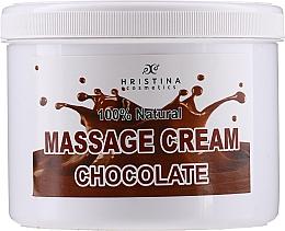 Парфюмерия и Козметика Масажен крем за лице и тяли с шоколад - Hristina Cosmetics Chocolate Massage Cream