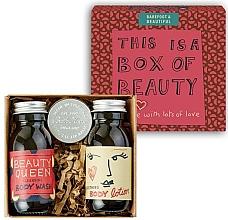 Парфюмерия и Козметика Комплект за тяло - Bath House Barefoot & Beautiful Box of Beauty Bodycare Gift Set