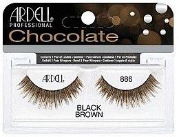 Парфюми, Парфюмерия, козметика Изкуствени мигли - Ardell Chocolate Lash Black Brown 886