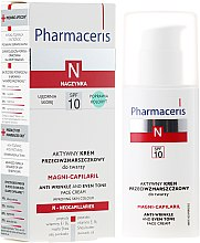 Парфюми, Парфюмерия, козметика Активен крем против бръчки за лице - Pharmaceris N Magni-Capilaril Active Anti-Wrinkle Cream