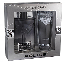 Парфюми, Парфюмерия, козметика Police Indipendent - Комплект (тоал. вода/100/ml+душ гел/100/ml)