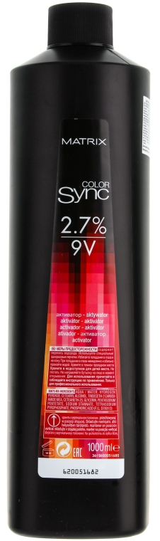 Активатор 2,7% - Matrix Color Sync Activator 2,7%  — снимка N4