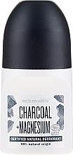 "Рол-он дезодорант ""Въглен"" - Schmidt's Carbon + Magnesium Deo Roll-On — снимка N1"