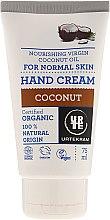 """Парфюмерия и Козметика Крем за ръце """"Кокос"""" - Urtekram Hand Cream Coconut"""