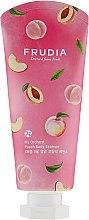 Парфюми, Парфюмерия, козметика Наситено подхранващо мляко за тяло с аромат на праскова - Frudia My Orchard Peach Body Essence