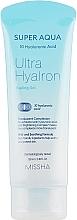 Парфюмерия и Козметика Почистващ пилинг гел за лице с хиалуронова киселина - Missha Super Aqua Ultra Hyalron Peeling Gel