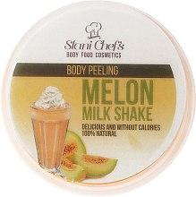 Парфюмерия и Козметика Пилинг за тяло - Stani Chef's Melon Milk Shake Body Peeling