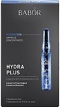 Парфюмерия и Козметика Хидратиращи ампули за лице - Babor Ampoule Concentrates Hydra Plus