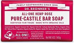 """Парфюми, Парфюмерия, козметика Сапун """"Роза"""" - Dr. Bronner's Pure Castile Bar Soap Rose"""