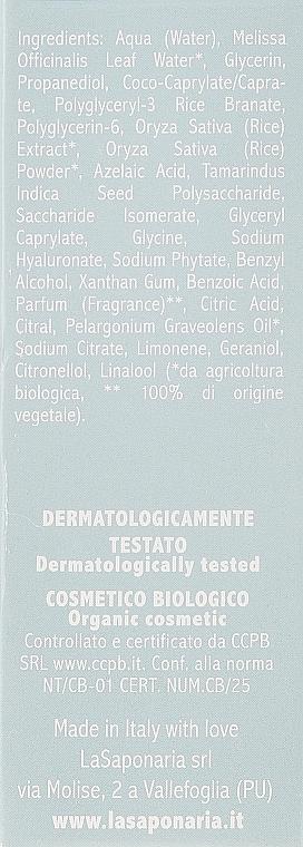 Био активен серум за лице с проблемна кожа - La Saponaria Anti-Blemish Serum — снимка N3