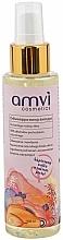 Парфюмерия и Козметика Освежаваща и хидратираща спрей есенция за лице - Amvi Cosmetics