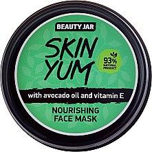 Парфюмерия и Козметика Подхранваща маска за лице - Beauty Jar Skin Yum Nourishing Face Mask