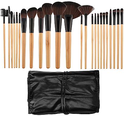 Професионален комплект четки за грим, 24 бр - Tools For Beauty