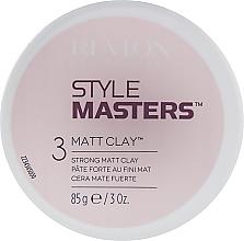 Парфюмерия и Козметика Моделираща матираща глина за коса - Revlon Professional Style Masters Matt Clay