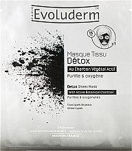 Парфюми, Парфюмерия, козметика Почистваща маска за лице - Evoluderm Detox Sheet Mask