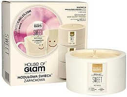 Парфюми, Парфюмерия, козметика Ароматна свещ - House of Glam Sweet Nothings Candle