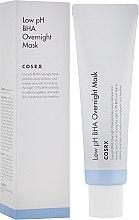 Парфюмерия и Козметика Нощна пилинг маска за лице с BHA-киселини - Cosrx Low pH BHA Overnight Mask