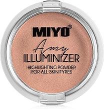 Парфюмерия и Козметика Пудра-хайлайтър - Miyo Illuminizer Highlighting Powder
