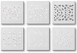 Парфюмерия и Козметика Комплект лепенки за нокти 42928 - Top Choice Nail Decorations Stickers Set