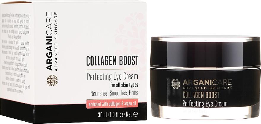 Околоочен крем против бръчки - Arganicare Collagen Boost Perfecting Eye Cream — снимка N1