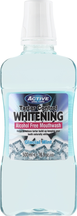 Вода за уста - Beauty Formulas Active Oral Care Tartar Control Whitening Antibacterial Mouthwash