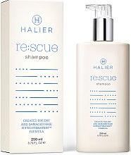 Парфюми, Парфюмерия, козметика Възстановяващ шампоан за суха и увредена коса - Halier Re:scue Shampoo
