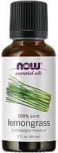 Парфюмерия и Козметика Етерично масло от лимонова трева - Now Foods Essential Oils 100% Pure Lemongrass