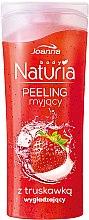 "Парфюми, Парфюмерия, козметика Душ пилинг ""Ягода"" - Joanna Naturia Washing Peeling Strawberry"