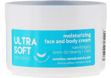 Овлажняващ крем за лице и тяло - Tolpa Ultra Soft Naturals Moisturising Face and Body Cream — снимка N1
