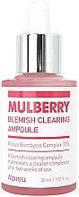 Парфюмерия и Козметика Мултивитаминна ампула-есенция за лице - A'pieu Mulberry Blemish Clearing Ampoule