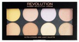 Парфюми, Парфюмерия, козметика Палитра за стробинг - Makeup Revolution Ultra Strobe and Light Palette