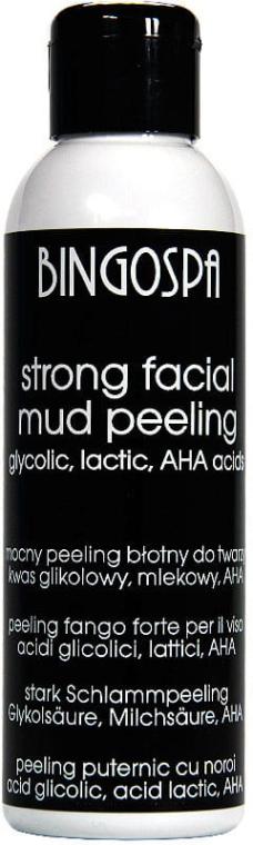 Дълбок пилинг с кал за лице с екстракт от гликолова, млечна и плодова киселина - BingoSpa