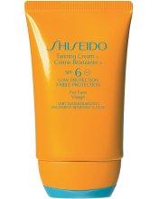 Парфюми, Парфюмерия, козметика Слънцезащитен крем за лице - Shiseido Face Tanning Cream SPF6