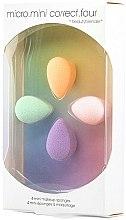 Парфюми, Парфюмерия, козметика Комплект мини гъби за грим - Beautyblender Micro.Mini Correct.Four (4бр)