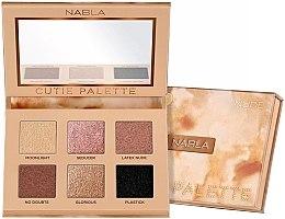 Парфюми, Парфюмерия, козметика Палитра сенки за очи - Nabla Cutie Collection Palette Nude