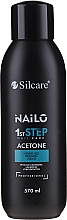 Парфюмерия и Козметика Течност за премахване на гел лак - Silcare Nailo Aceton