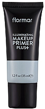 Парфюмерия и Козметика Основа под макияж придающая сияние - Flormar Illuminating Make Up Primer Plus