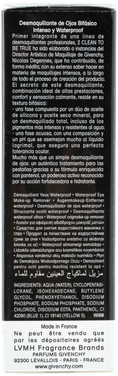 Почистващ гел за премахване на водоустойчив грим 2 в 1 - Givenchy 2 Clean to Be True — снимка N2