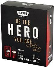 Парфюми, Парфюмерия, козметика STR8 Red Code - Комплект (афтършейв лосион/50ml + дезодорант/150ml)
