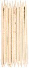 Парфюмерия и Козметика Дървени пръчици за избутване на кожички, 10бр. - Hi Hybrid
