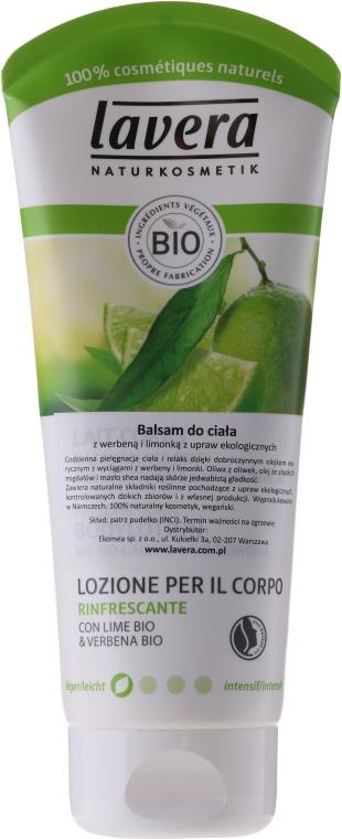 """Освежаващ лосион за тяло """"Лайм и вербена"""" - Lavera Organic Lime & Verbena Body Lotion"""