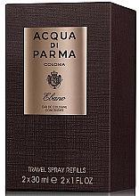 Парфюмерия и Козметика Acqua di Parma Colonia Ebano Travel Spray Refills - Одеколон