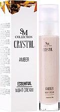 Парфюми, Парфюмерия, козметика Нощен крем Амбър - Hristina Cosmetics SM Crystal Amber Night Cream