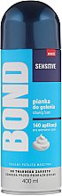 Парфюмерия и Козметика Пяна за бръснене - Bond Sensitive Shaving Foam