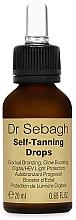 Парфюмерия и Козметика Автобронзиращи капки - Dr Sebagh Self-Tanning Drops
