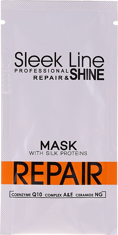 Маска за коса - Stapiz Sleek Line Repair Hair Mask (мостра)