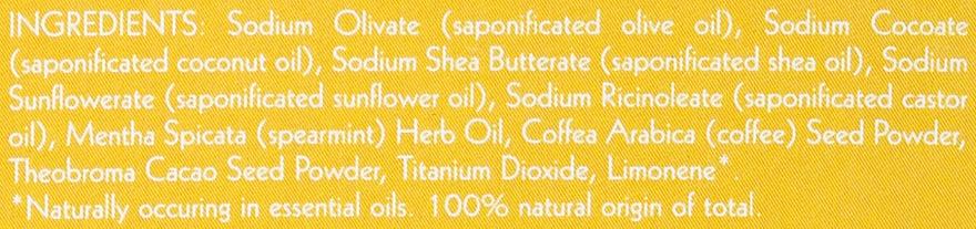 Натурален сапун-скраб с масло от мента и кафе - Uoga Uoga Care for Coffee? Soap — снимка N4