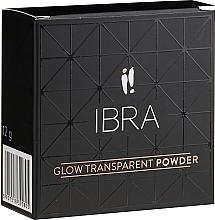 Парфюмерия и Козметика Изсветляваща пудра за лице - Ibra Glow Transparent Powder (3)